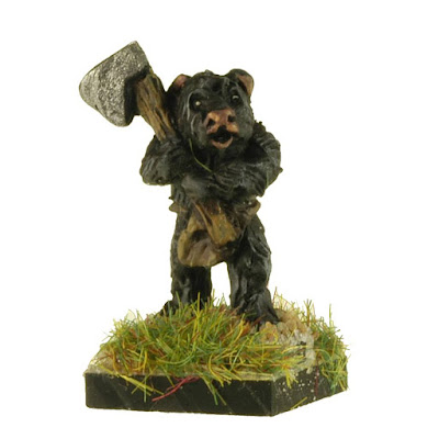 FAB101 Bear Infantry with Axes