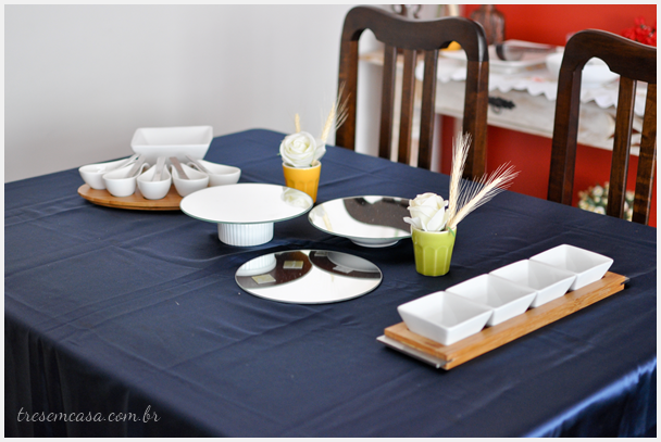decorar mesa almoço