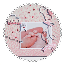 Babyalbum Stampin up