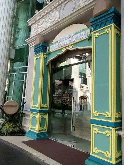 Dekorasi gate ukiran dan bedug tema ramadhan di bulan puasa sampai lebaran idul fitri untuk di kantor, hotel, mall, dan rumah dari gabus styrofoam dengan harga murah.
