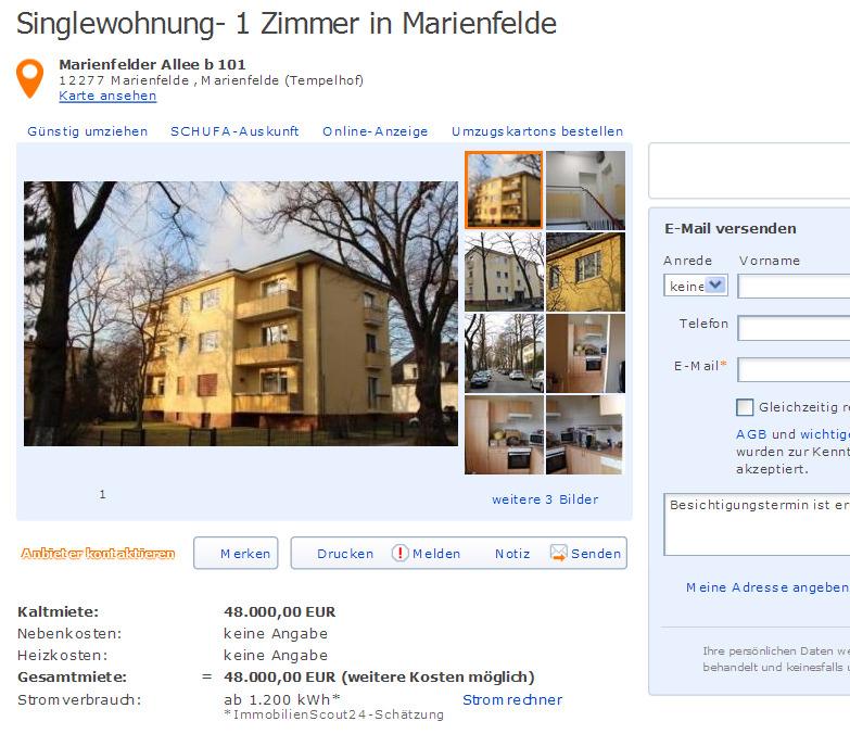 Wohnung Marienfelde