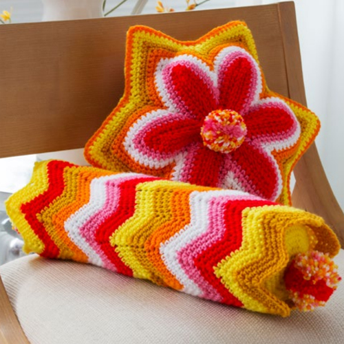 Brighter Days Pillows - Free Pattern