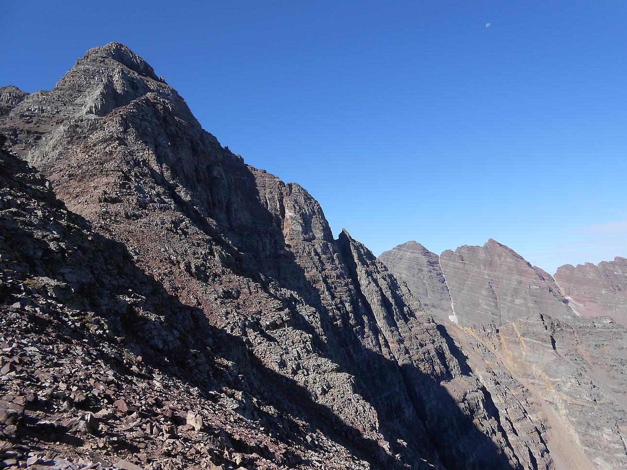 Colorado Mountaineering: Pyramid Peak: Are We Just ...