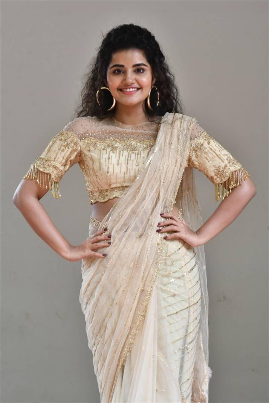 Anupama Parameswaran at Rakshasudu Movie Press Meet