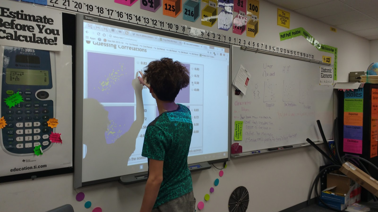 Math Love Guessing Correlation Coefficient Game