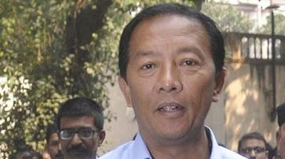 GJM leader Binay Tamang