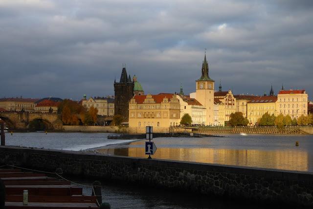 Vue sur staré mesto Prague
