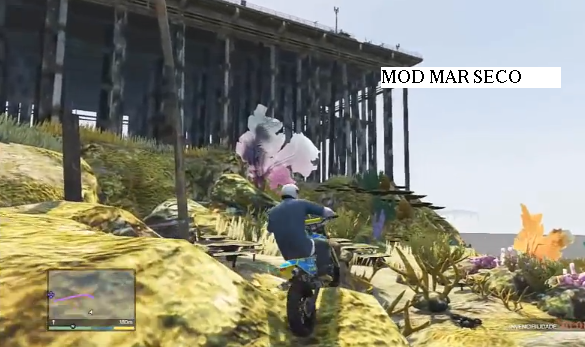 gta v mod mar seco versao ps