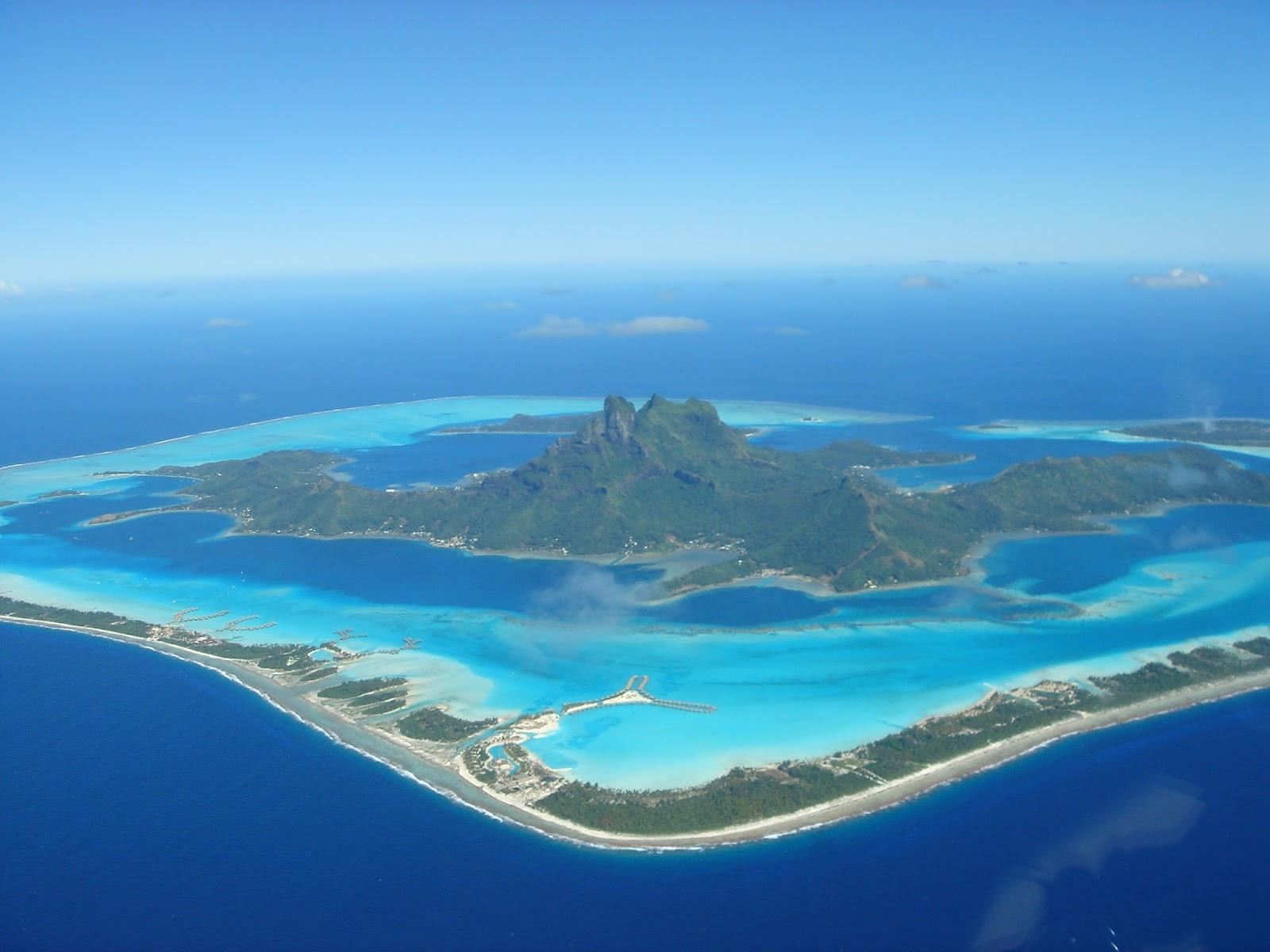 Bora Bora, Isole della Società