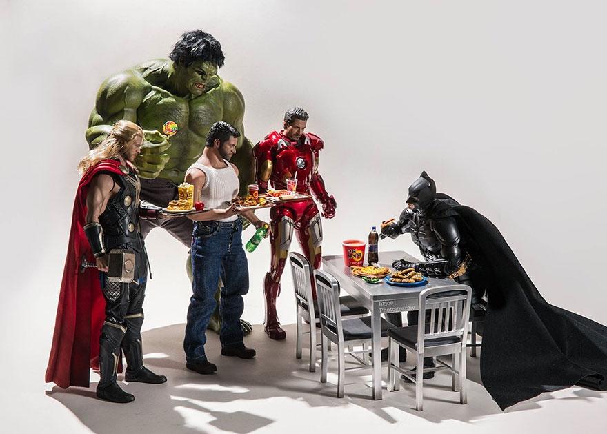 05-Hrjoe-Marvel-Superheroes-During-their-Downtime-www-designstack-co