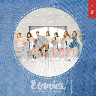 Unnies 언니쓰 - Right? 맞지? Lyrics with Romanization