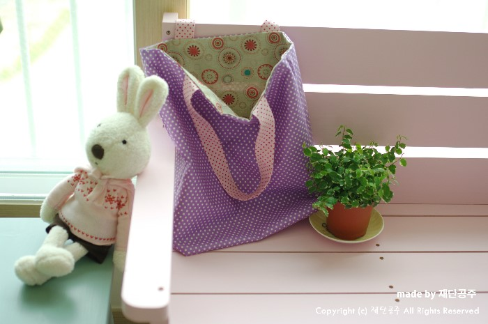How to Make a Bag in One Hour. Sewing Photo Tutorial.