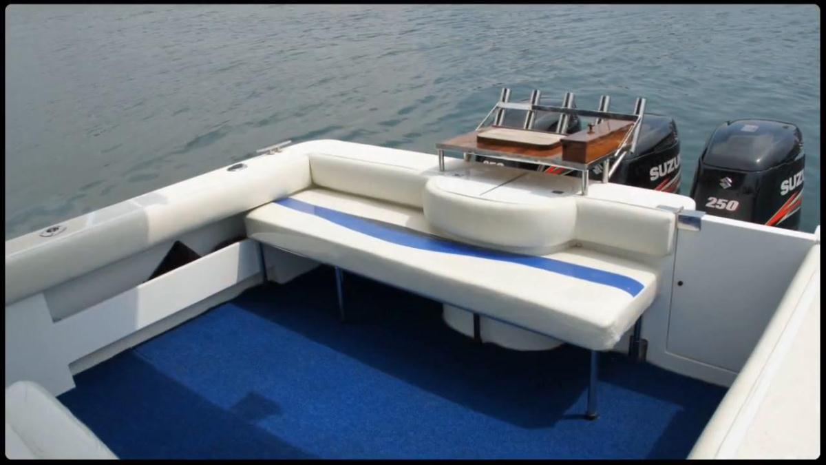 speedboat mancing