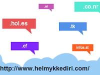 Situs Penyedia Domain Gratis Terbukti