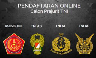 Pendaftaran TNI, Cara Pendaftaran TNI AD AL AU