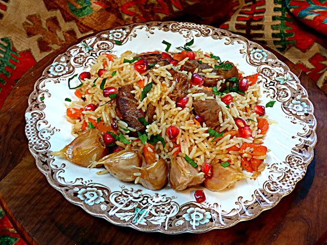 Uzbek recipe, Uzbekskii plov