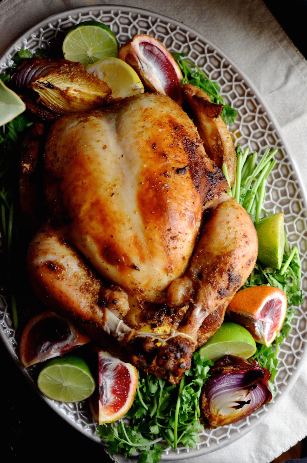 Puerto rican style roast chicken always order dessert i grew up with a puerto rican mom who firmly believed that all meat should be marinated before cooking at least for a few hours preferably overnight forumfinder Gallery