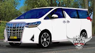 Mod Toyota Mpv Alphard By Eap Gudang Livery Skin Dan Mod Bus Simulator Indonesia