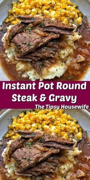 Round Steak & Gravy Delicious