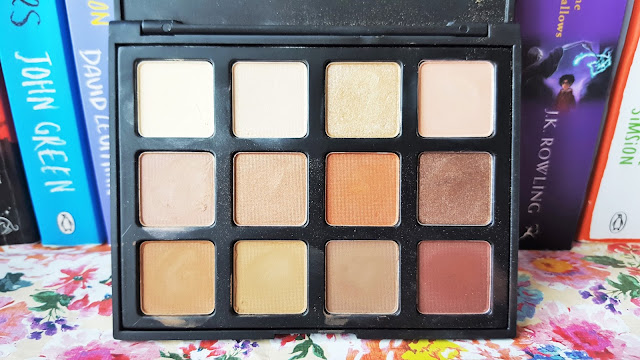 Morphe Brushes 12NB Natural Beauty Palette Review & Swatches