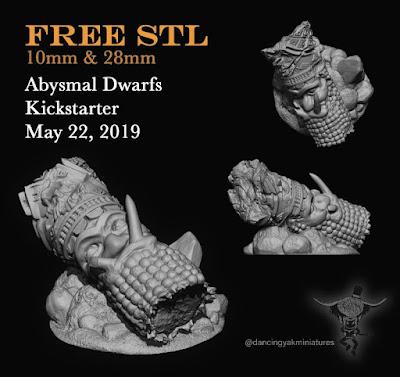Free STL File from Dancing Yak Miniatures