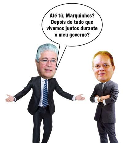 Antes aliados, hoje inimigos públicos: pior para Roberto Requião, claro!