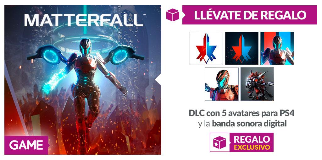 Prepárate para la llegada de Materfall con la ayuda de GAME