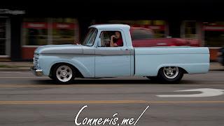 Draggin Douglas Classic Blue Truck