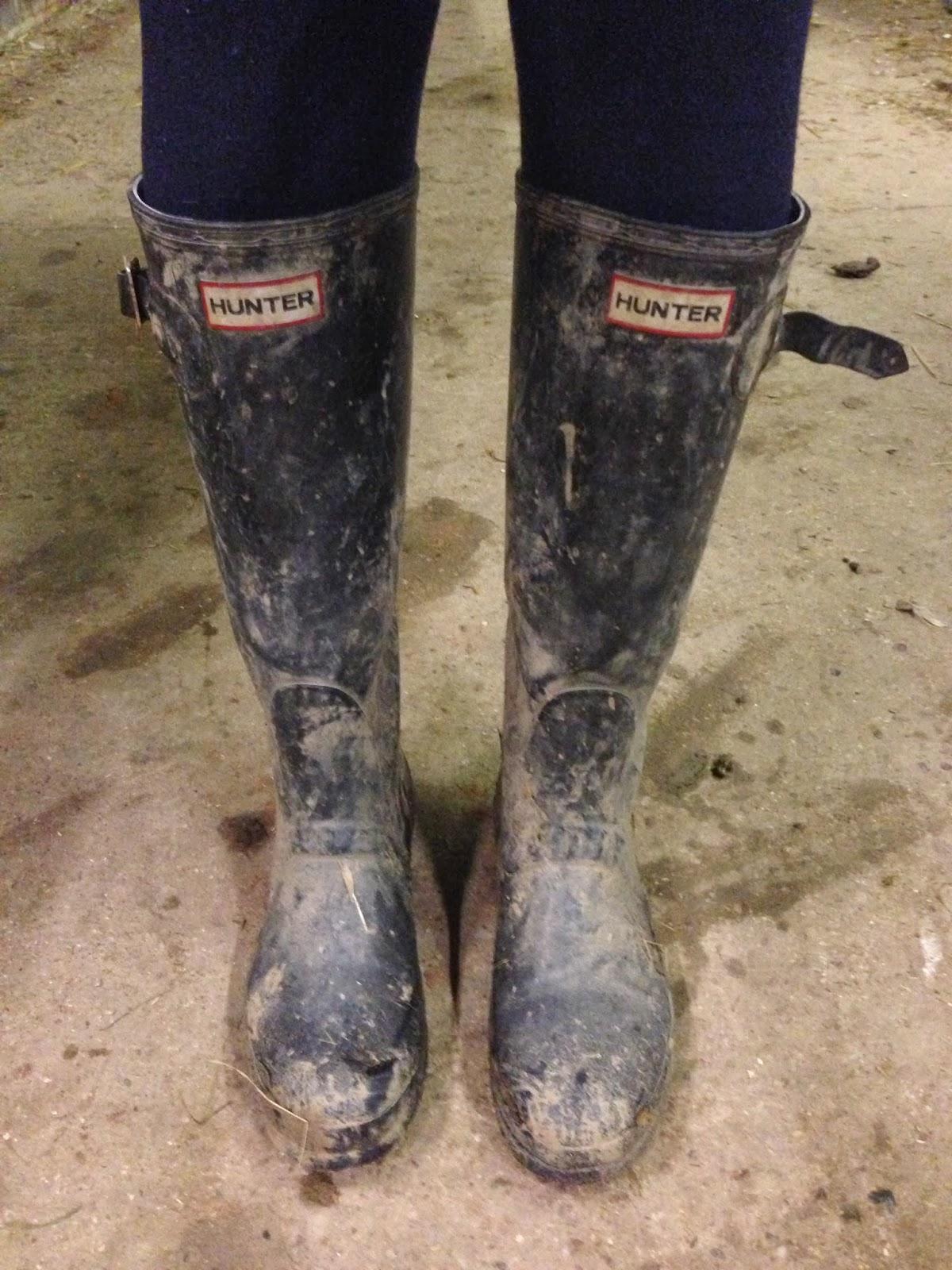 Hunter Lined Rain Boots