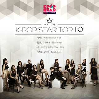 Download MP3 [Single] Various Artists – KPOP STAR SEASON 6 TOP10 Part.1