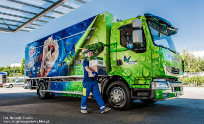 Renault Midlum e-Truck