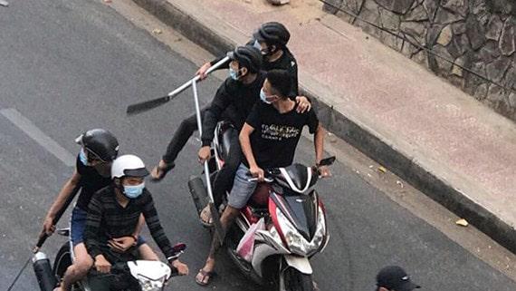 TPHCM: Hỗn chiến kinh hoàng giữa đường phố, nhiều người bị thương