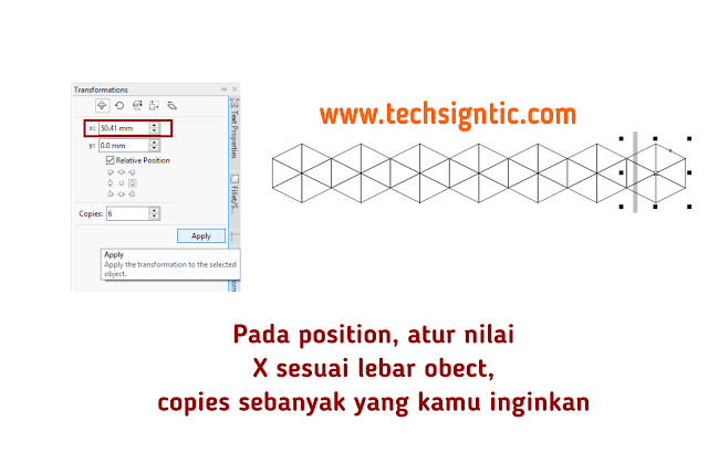 Making grid for isometric art in CorelDraw 10