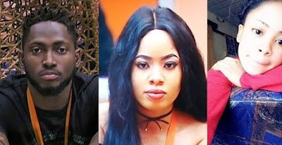 #BBNaija: Nina disappointed as Miracle refuses to have s@x with her