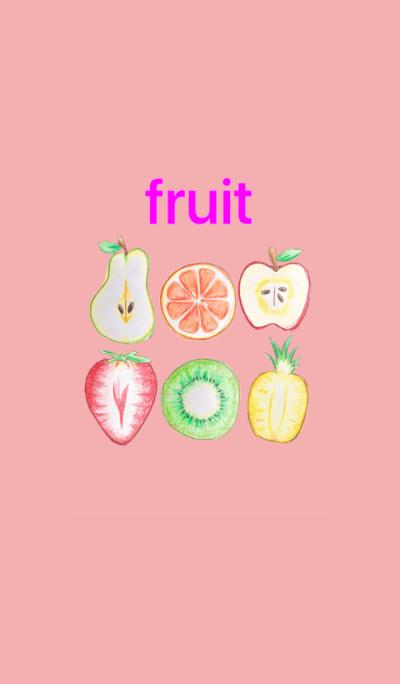 fruit apple strawberry &