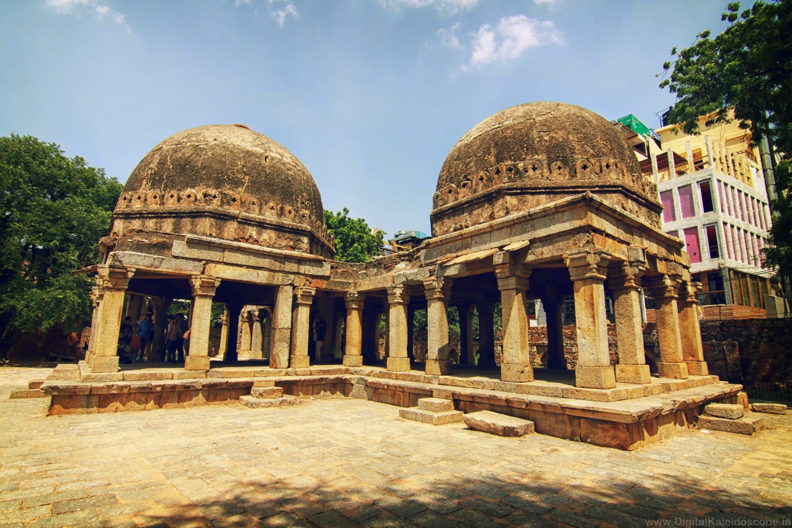 Hauz Khas  travel blog