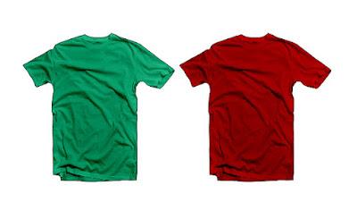 Cara Membuat Mockup Tshirt Dengan Corel Draw Tshirt sudah berwarna