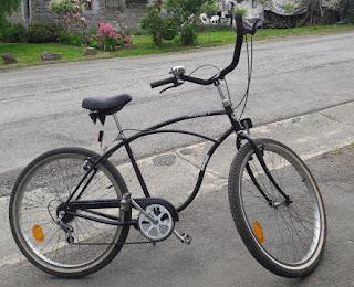 vélo plage californien