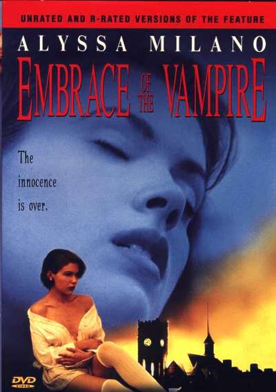 DVD cover Embrace of the Vampire 1995 movieloversreviews.filminspector.com
