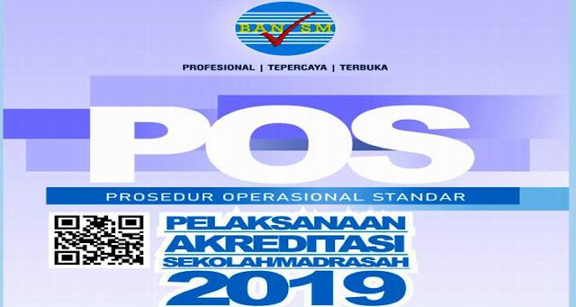 PROSEDUR OPERASIONAL STANDAR (POS) PELAKSANAAN AKREDITASI SEKOLAH/ MADRASAH TAHUN 2019