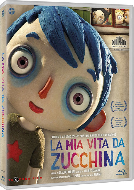 La Mia Vita Da Zucchina Home Video