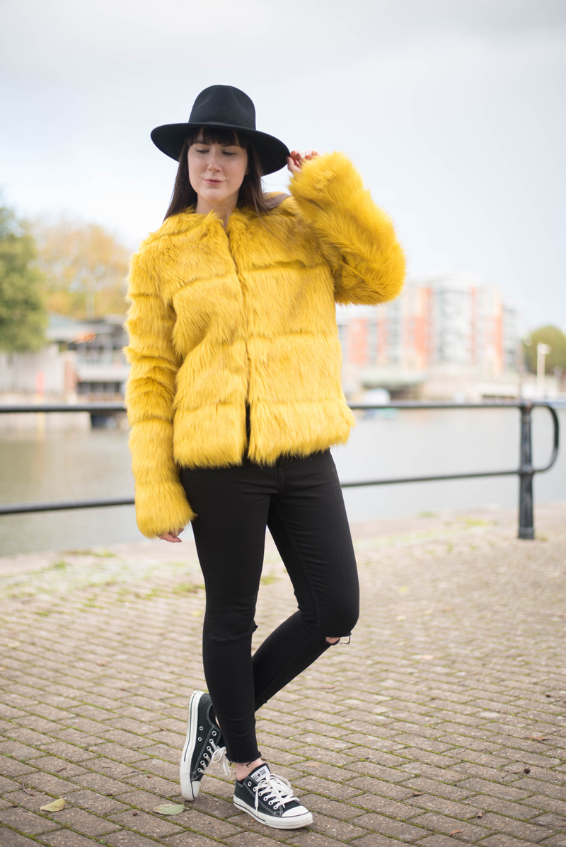 Fluffy Yellow Coat