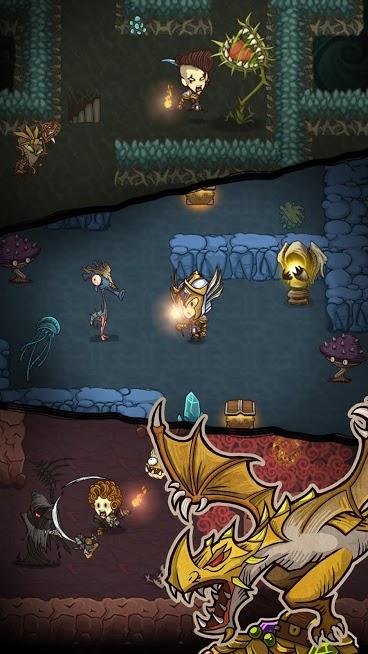 The Greedy Cave MOD Dinheiro Infinito 3.1.3