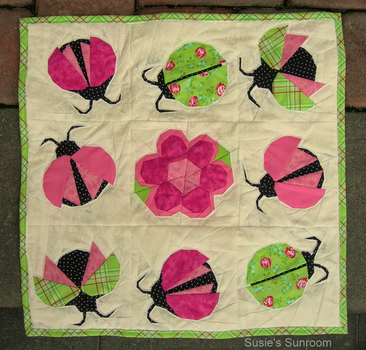The Patchsmith: Ladybirds and Ladybugs Across the Pond : lady bug quilts - Adamdwight.com