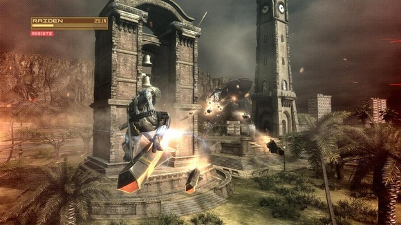 Metal Gear Rising Revengeance PC Free Download Screenshot 2