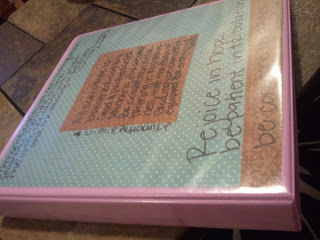 Starting a Prayer Binder {Good Use of Time When Home Alone}