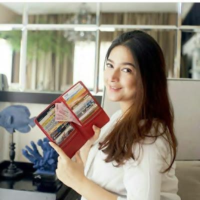 Nabila Syakieb JH Carla Card Wallet Red