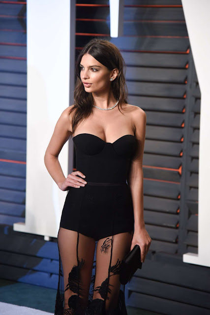 Emily Ratajkowski – 2016 Vanity Fair Oscar Party