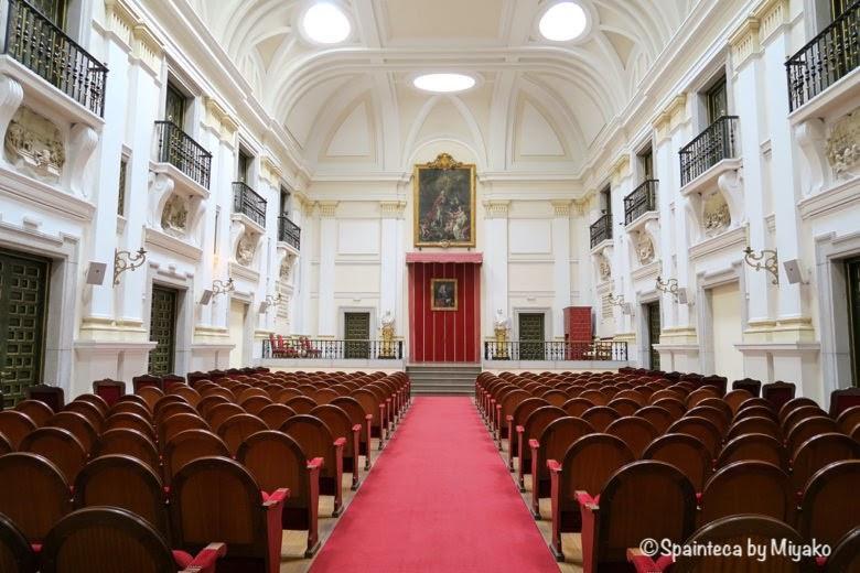 王立サンフェルナンド美術アカデミーの講堂