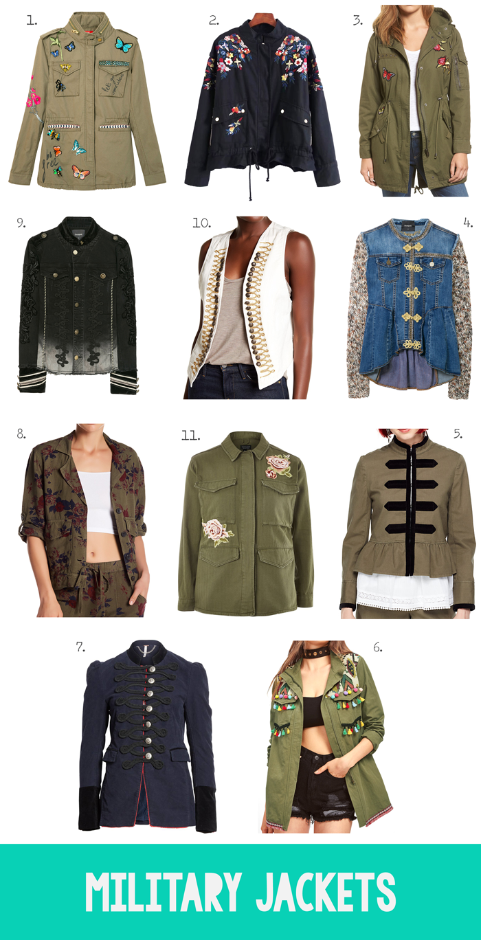 Women's clothing fashion fall autumn trends, jackets, blazers, vests, anoraks, coats, shopping guide